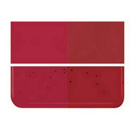 Bullseye 90 coe Glass - GARNET RED DBL-ROLL FUS ()