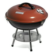 Best Portable Charcoal Grills - Cuisinart CCG-190RB Portable Charcoal Grill, 14-Inch, Red Review