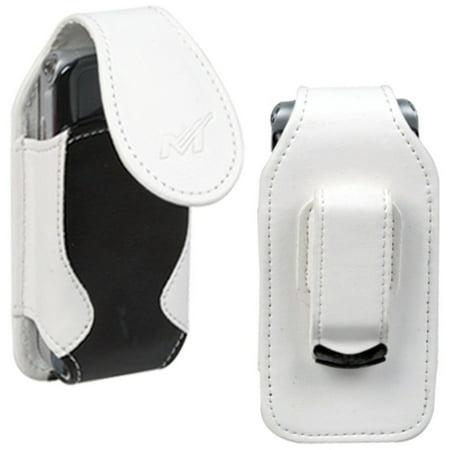 MyBat Vertical Pouch Skin Case Cover - White/Black