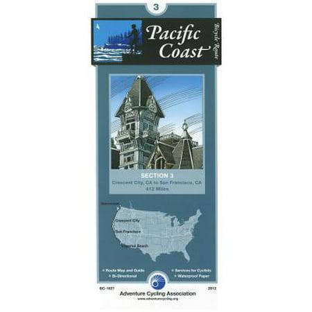 Pacific Coast Bicycle Route #3 : Crescent City, CA - San Francisco, CA (412 Miles)