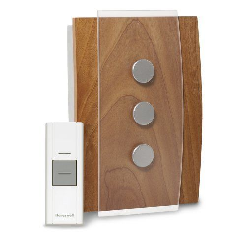 Honeywell RCWL3503A Decore Wireless Door Chime and Push Button