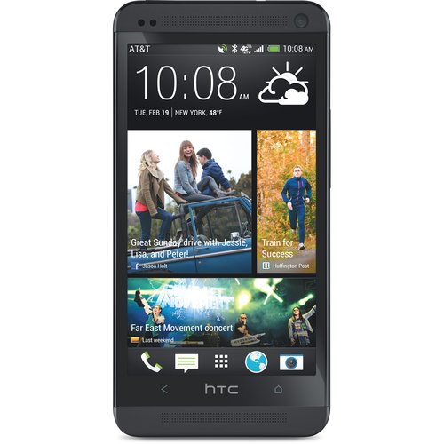 HTC One 4G Smartphone, Black Isis (Unlocked)
