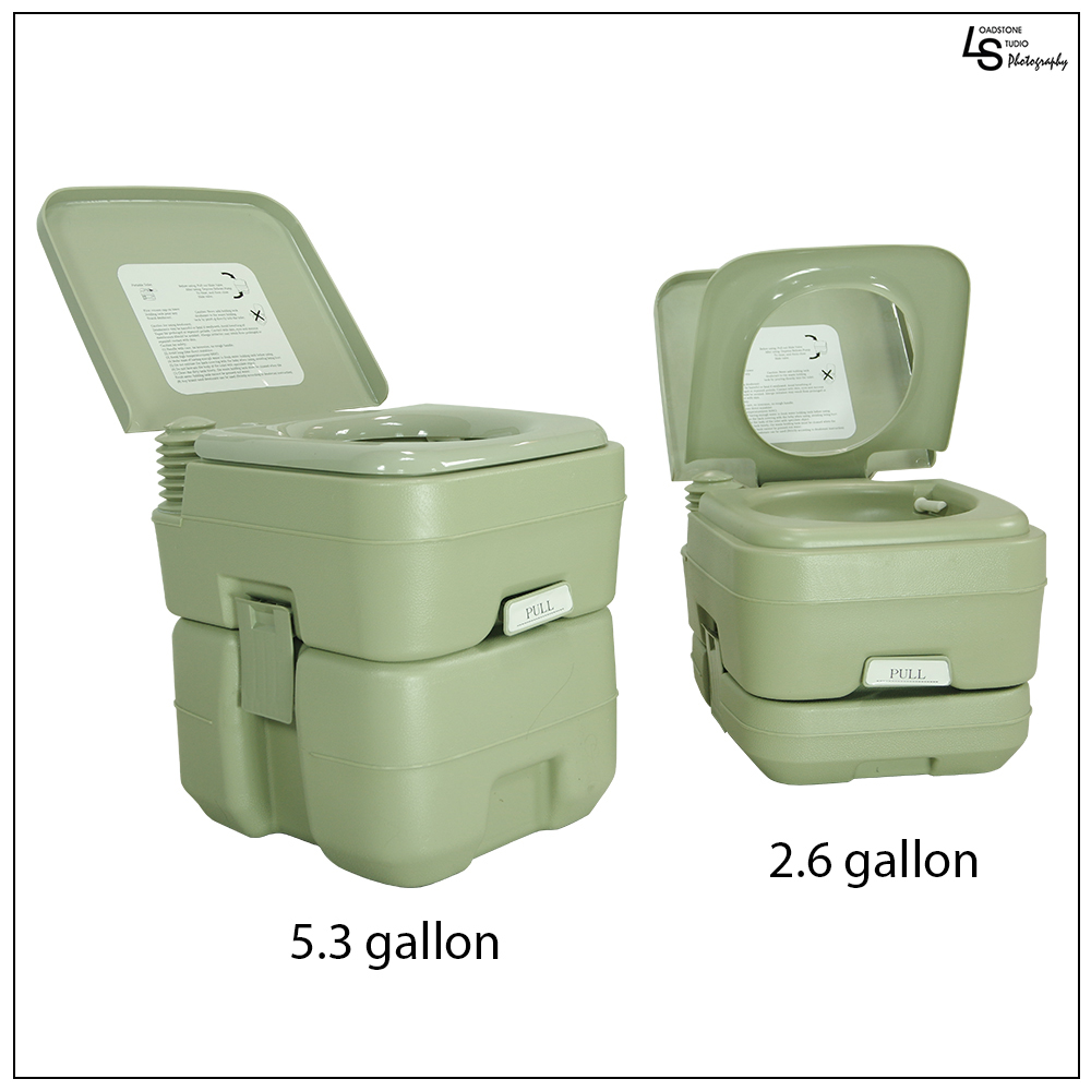 Loadstone Studio New 5.3 Gallon Travel Outdoor Camping Boat Portable Toilet Potty,WMLS1806