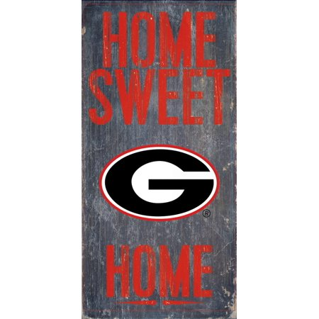 Georgia Bulldog Game (Georgia Bulldogs Wood Sign - Home Sweet Home)