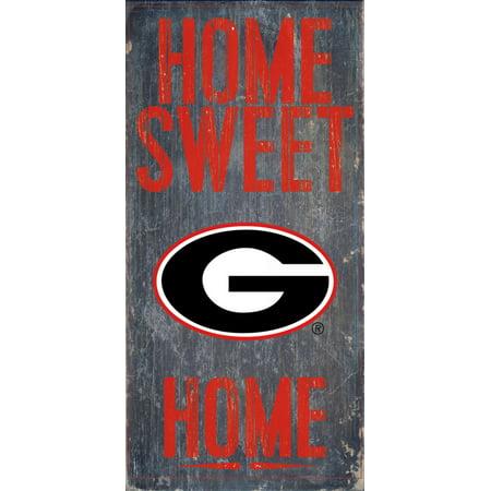Georgia Bulldogs Wood Sign - Home Sweet Home 6