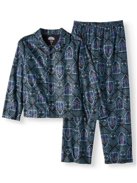 c6d7ff20800093 Product Image Black Panther Boys' 2-Piece Pajama Coat Sleep Set