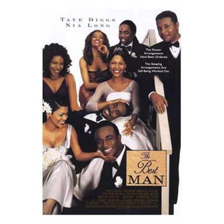 Pop Culture Graphics MOV196390 The Best Man Movie Poster, 11 x