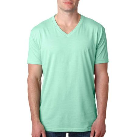 e7f0aad65f1f Next Level Apparel - Next Level 6240 Men's CVC V-Neck T-Shirt - Mint - 2X- Large - Walmart.com