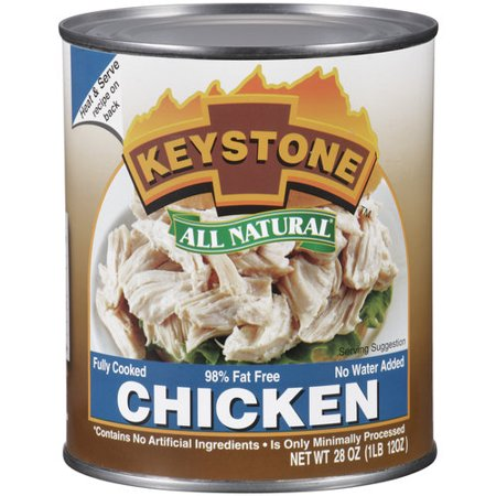 Keystone All Natural Chicken  28 Oz