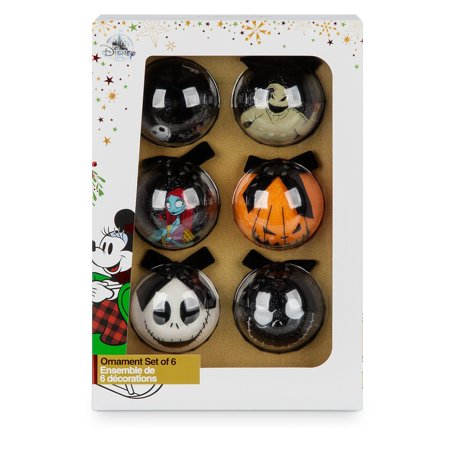 5a93a51f0b3b2 Disney Store The Nightmare Before Christmas Sketchbook Ornament Set ...