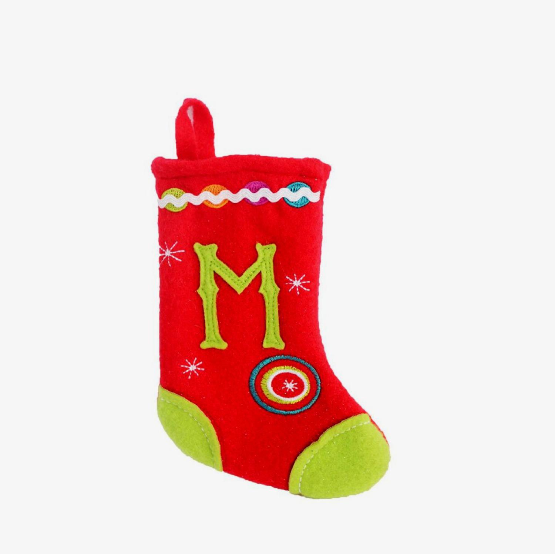 Blue Felt Christmas Stocking - Walmart.com