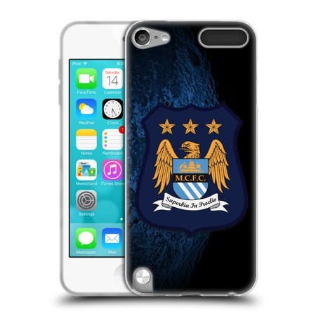 OFFICIAL MANCHESTER CITY MAN CITY FC CREST KIT SOFT GEL CASE FOR APPLE IPOD TOUCH MP3