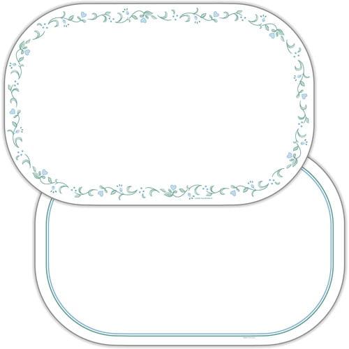Corelle Country Cottage Microban Decofoam Reversible Placemats, Set of 6