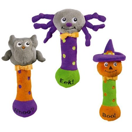Grasslands Road Products Halloween (Grasslands Road Bootiful Baby Plush Toy Halloween Squeaker (1)