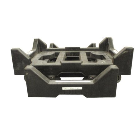 """Image of """"Plastic Dolly, 27-1/2 X 18 X 3 - 4"""""""" Casters 650 Lb Capacity"""""""
