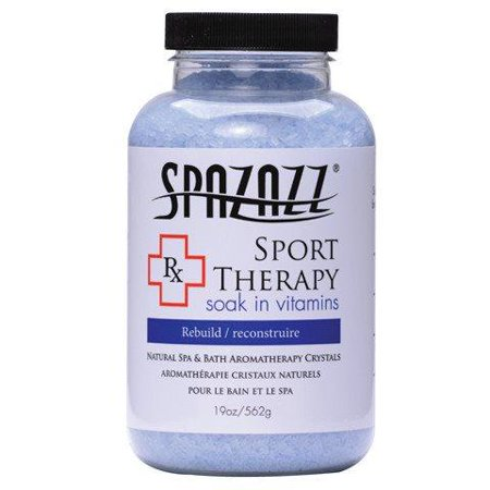 Spazazz Aromatherapy Spa and Bath Crystals- Sport Therapy Spa Bath Crystals