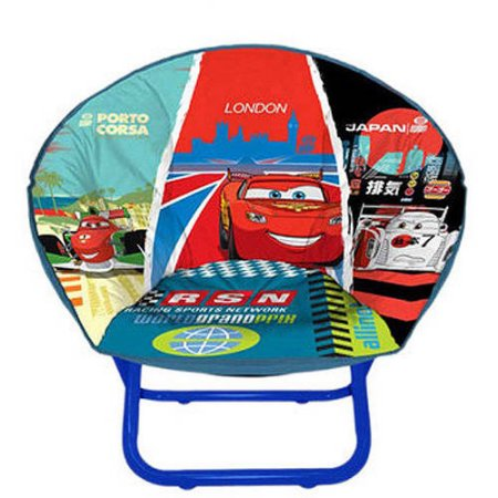 Disney cars saucer chair table lamp bundle walmart cars 2 mini collapsible saucer chair mozeypictures Image collections