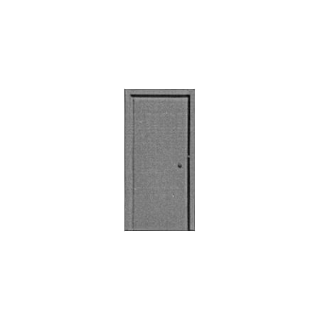HO Scale Miniature Toy Solid Entry Door (3) Mahogany Exterior Doors
