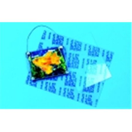 Sabic Polymershapes Plastic Cementable Moldable Acrylic Sheet - 24 x 24 in   - Crystal Clear