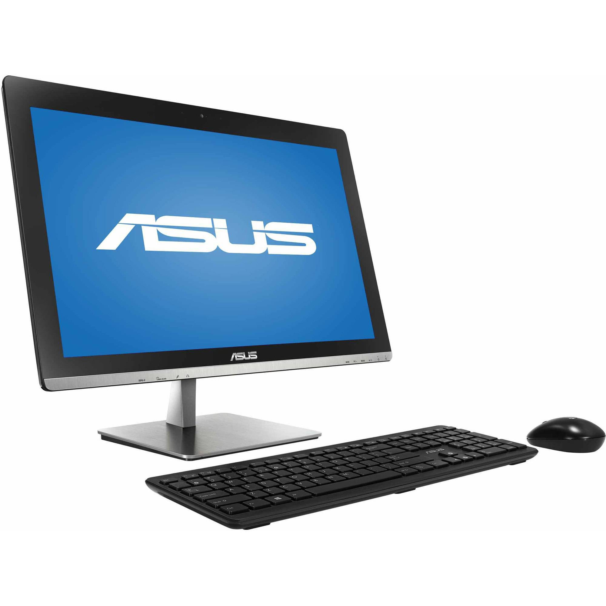 "ASUS Black All-in-One Desktop PC with Intel Pentium J2900 Processor, 4GB Memory, 23"" Monitor,  1TB Hard Drive and Windows 8.1  (Eligible for Windows 10 upgrade)"