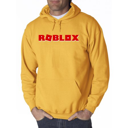 17d4ca3eb6a2c New Way - New Way 922 - Adult Hoodie Roblox Logo Game Filled Sweatshirt  Large Gold - Walmart.com