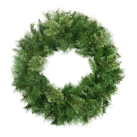 Northlight 24 in. Artificial Mixed Cashmere Pine Unlit Christmas Wreath
