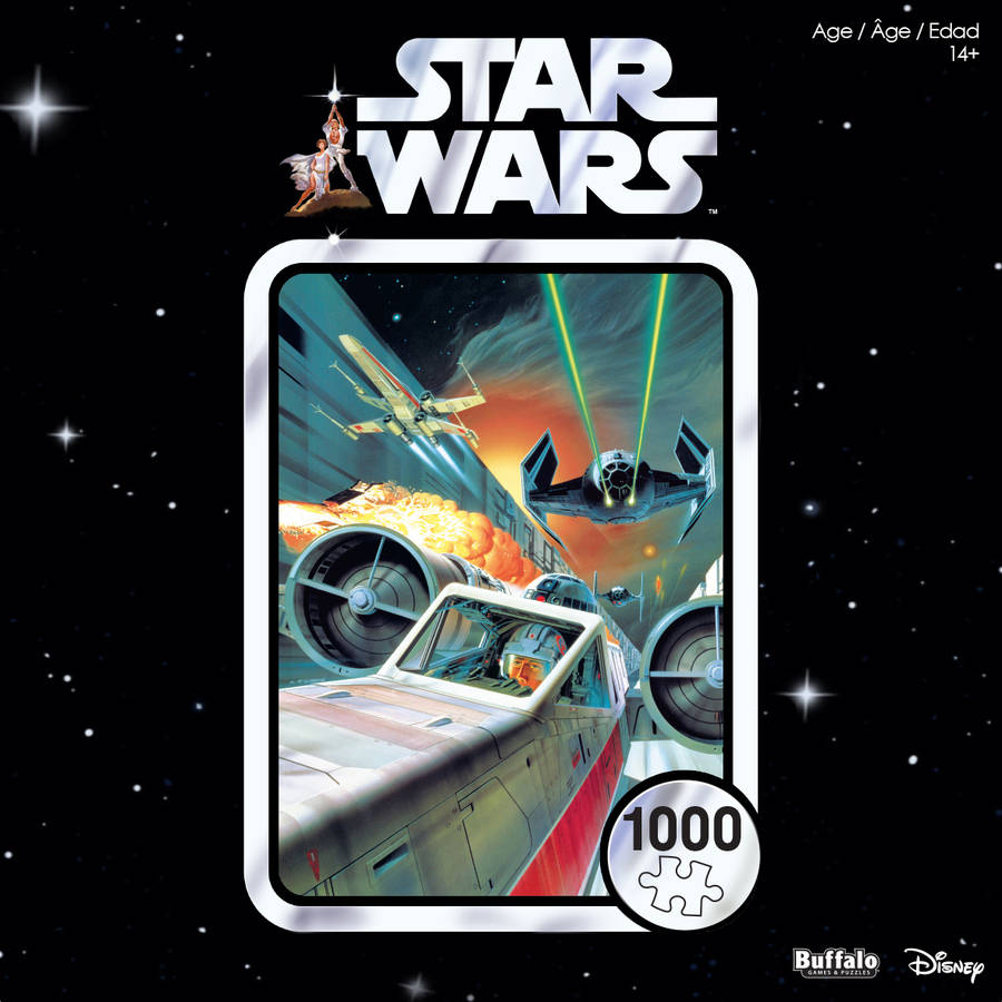 Buffalo Games 1000-Piece Star Wars: Use The Force Luke Puzzle