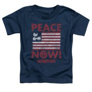 Woodstock Peace Now Little Boys Shirt