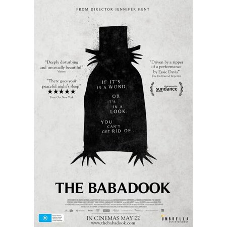 The Babadook  2014  27X40 Movie Poster  Australian