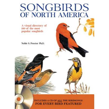 Songbirds of North America : A Visual Directory of 100 of the Most Popular Songbirds in North America