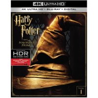 Harry Potter And The Sorcerer's Stone (4K Ultra HD + Blu-ray)