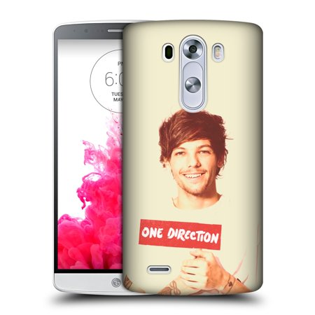 OFFICIAL ONE DIRECTION LOUIS PHOTO FILTER HARD BACK CASE FOR LG PHONES 1