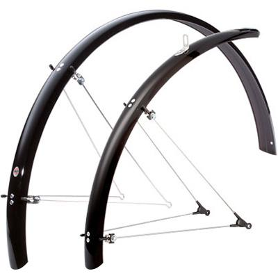SKS B53 Bolt-On Recumbent/Folding Bike Fenders