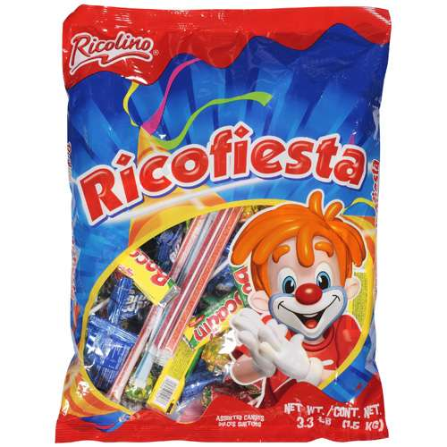 Ricolino: Assorted Candy, 3.3 Lb