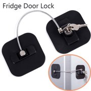 SUPERHOMUSE Child Kids Safety Lock Punch Free Window Safety Lock Refrigerator Safety Lock