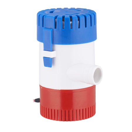 Pinty 500Gph 12V 2 0A Submersible Bilge Pump For Marine Boat Yacht 3 4  Outlet