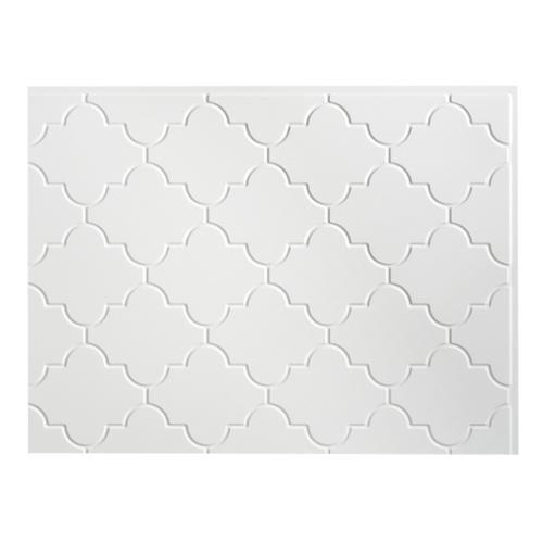 Fasade Monaco Gloss White Backsplash Panel Walmart Com