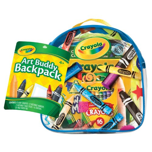 Crayola Art Buddy Back Pack by Crayola