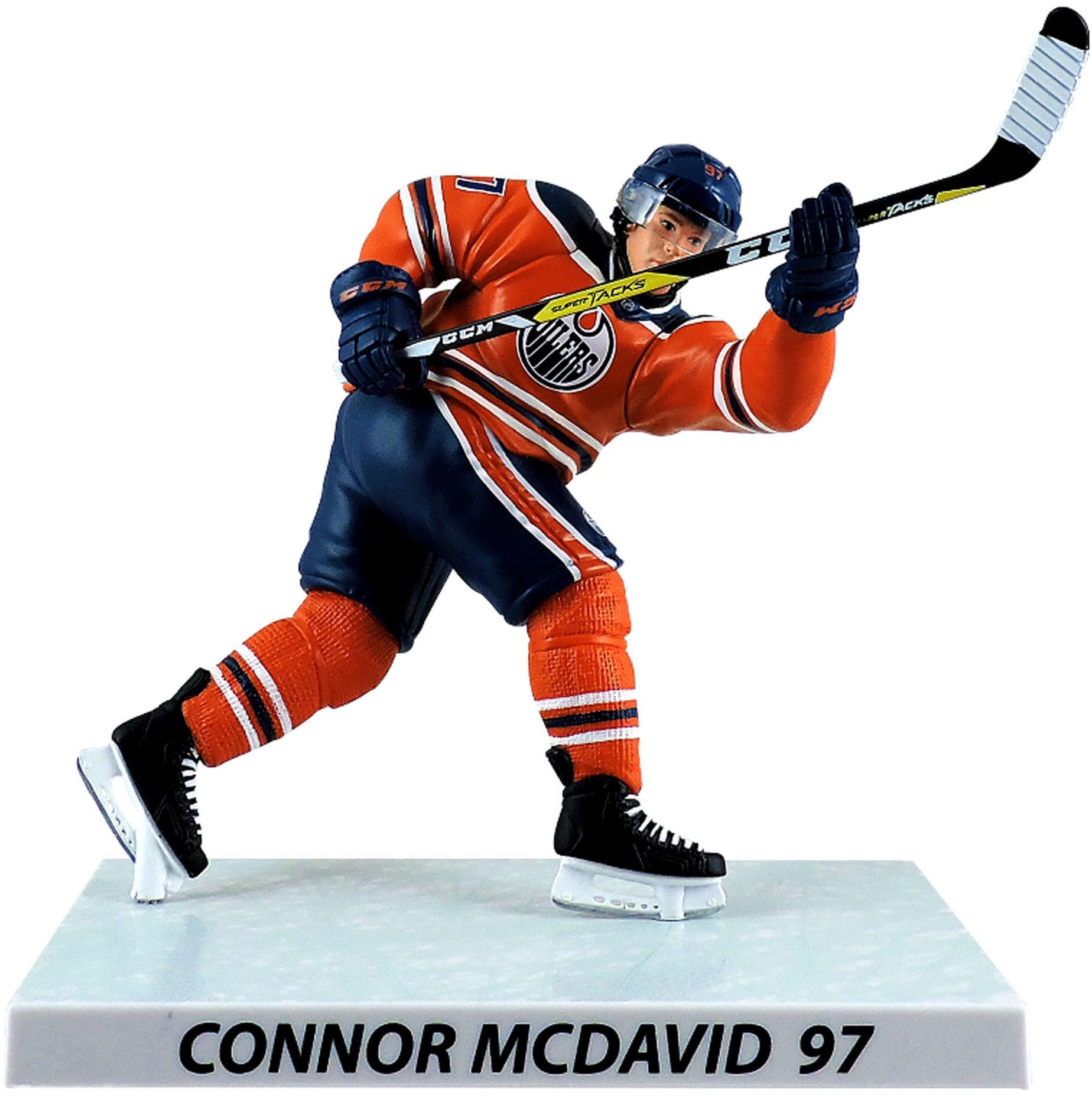 """Connor McDavid Edmonton Oilers Imports Dragon 6"""" Player Replica Figurine - No Size"""