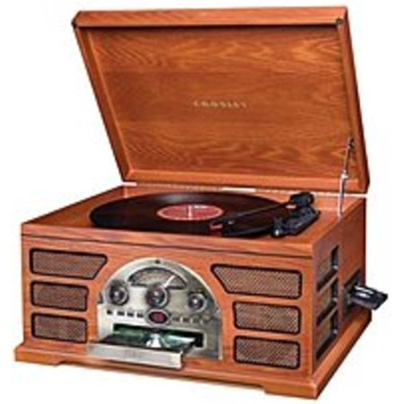 Refurbished Crosley CR66-PA Rochester 5-in-1 Stereo Turntable Sound System -