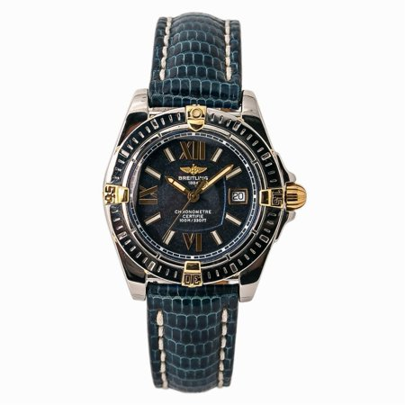 Pre-Owned Breitling Cockpit B71356 Steel Women Watch (Certified Authentic & Warranty)