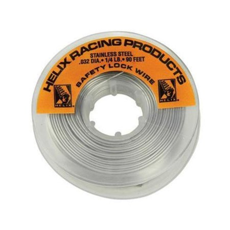 Msr Safety Wire (Helix Racing Products 112-0032 Stainless Steel Safety)