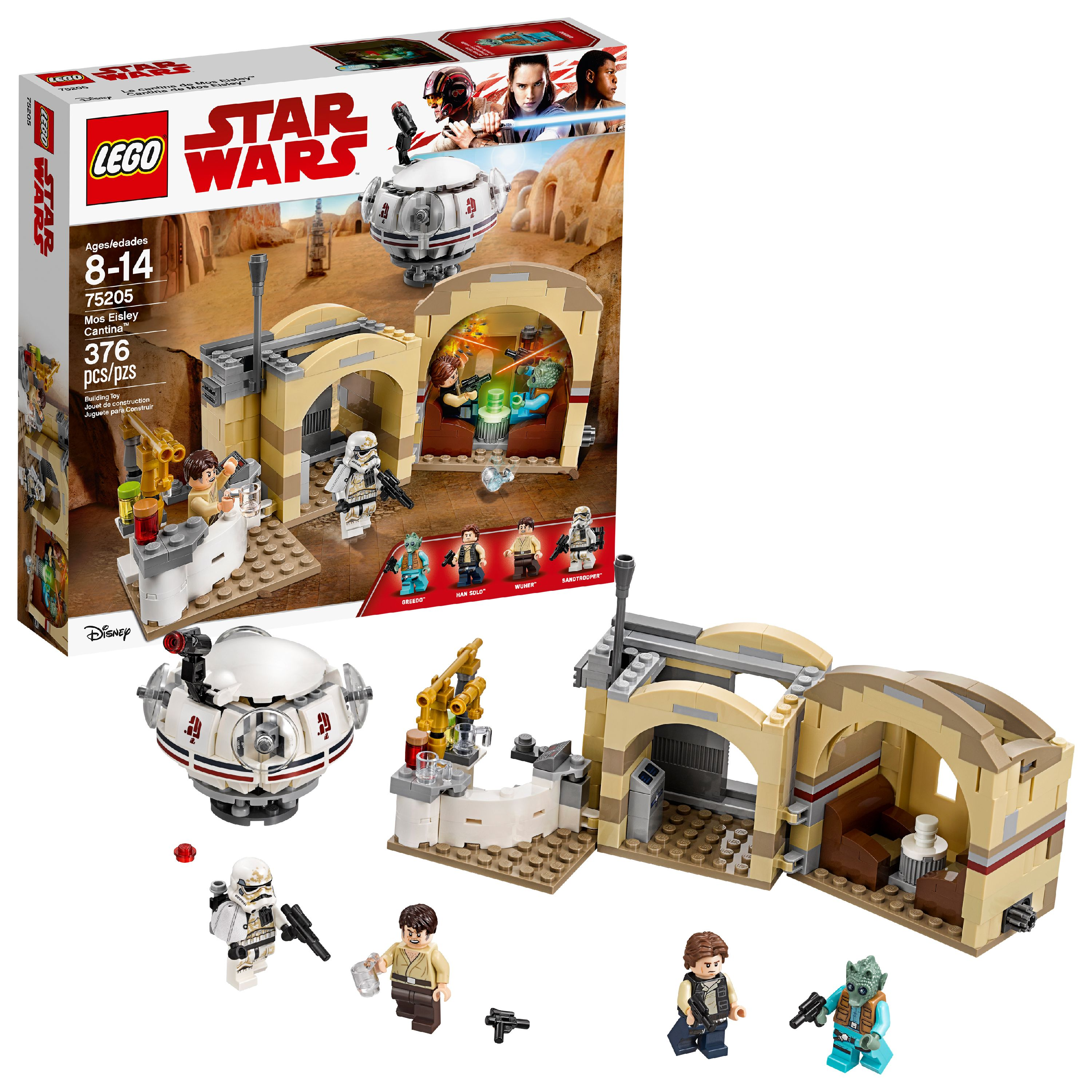LEGO Star Wars™ Mos Eisley Cantina™ 75205 (376 Pieces)