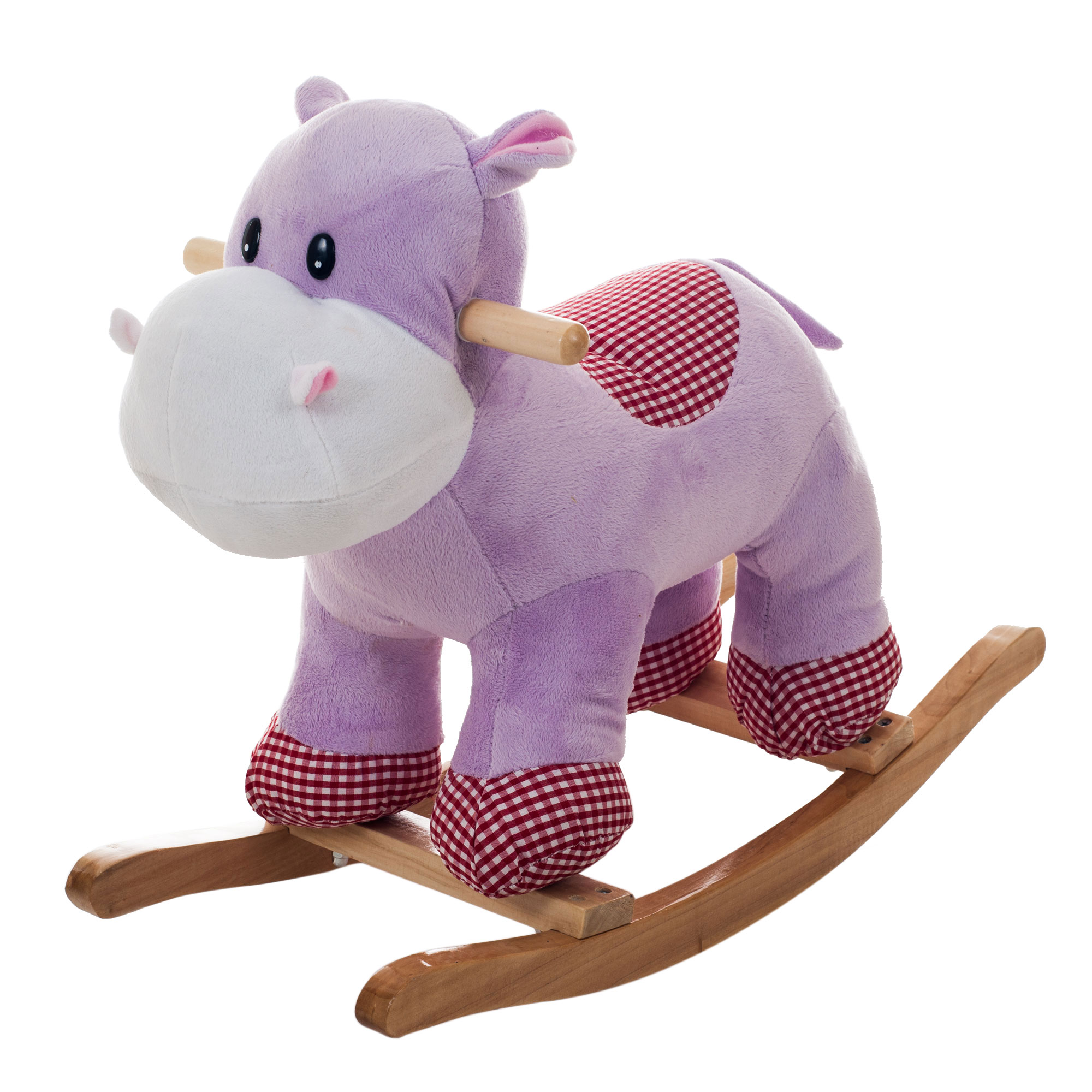Henrietta the Rocking Hippo Ride On Rocking Horse Animal Toy by Happy Trails
