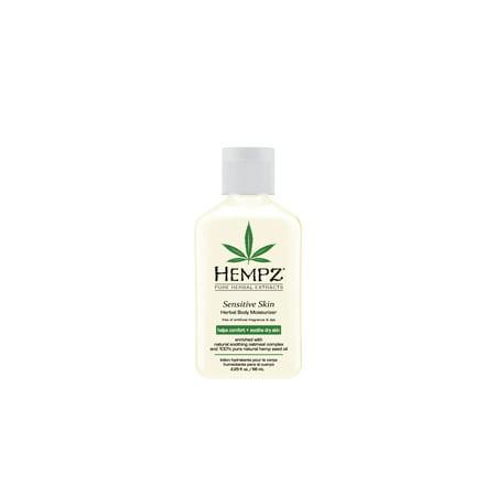 Hempz Sensitive Skin Herbal Body Moisturizer- 2.25 oz.