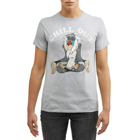 - Men's Lion King Chill Out Short Sleeve Graphic T-Shirt