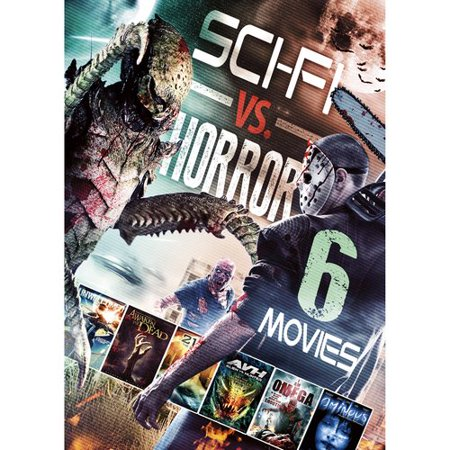 Echo Bridge Home Entertainment 6-Movie Sci-Fi vs. Horror (Echo Vs Echo Dot Vs Echo Plus)