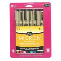 Sakura Pigma Micron Pen Set, 8-Colors, 05