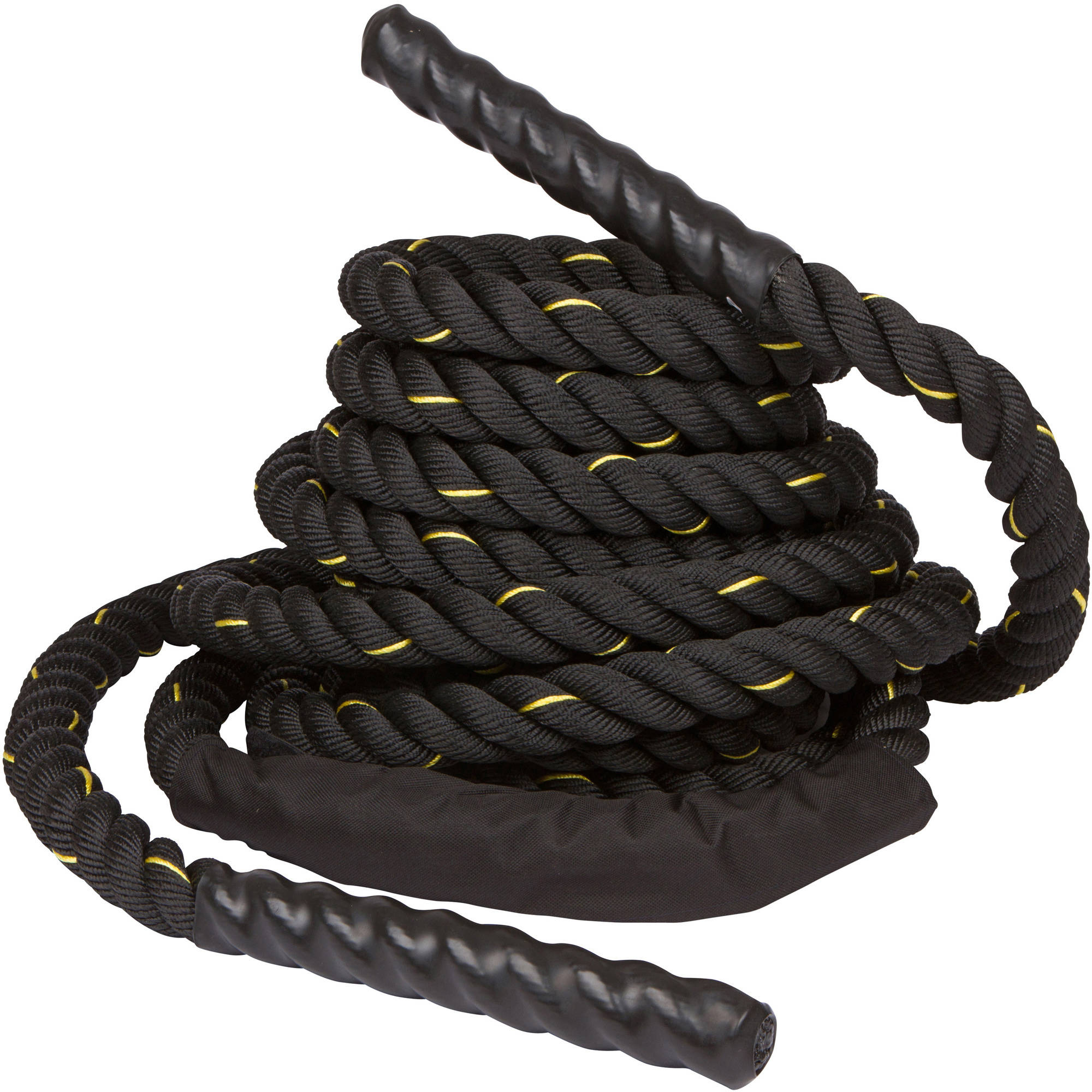 "Trademark Innovations Battle Rope, Strength and Core Training, 1.5"" Thick, 40'"