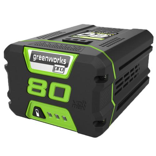 Factory-Reconditioned Greenworks 2901302-RC 80V 2.0 Ah Lithium-Ion Battery (Refurbished)